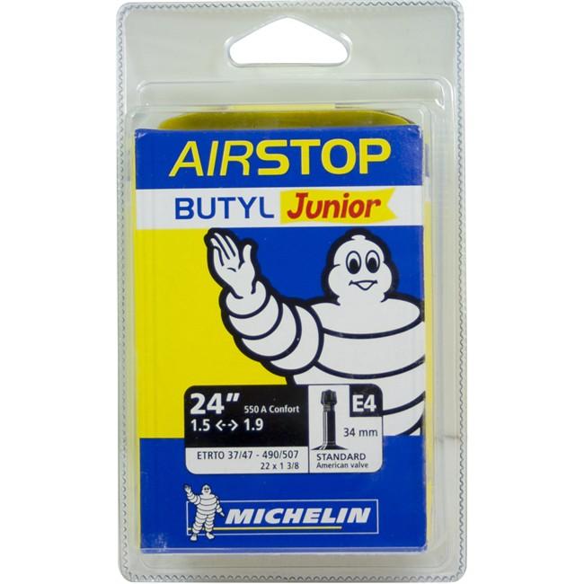 Chambre à air MICHELIN Airstop C4 26x1,45//2,60 VTT vélo 37//62-559 presta boyau