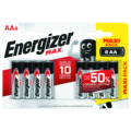 8 Piles ENERGIZER MAX AA/LR6