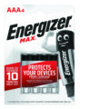4 Piles ENERGIZER MAX AAA/LR03