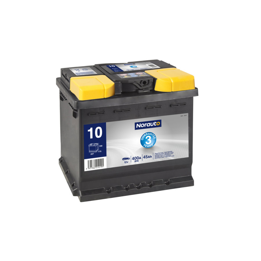 Batterie NORAUTO BV10 45 Ah - 400 A