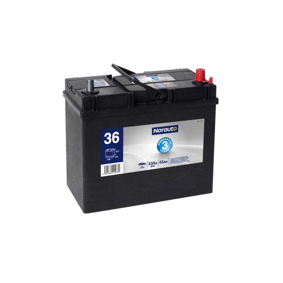 Batterie NORAUTO BV36 45 Ah - 330 A