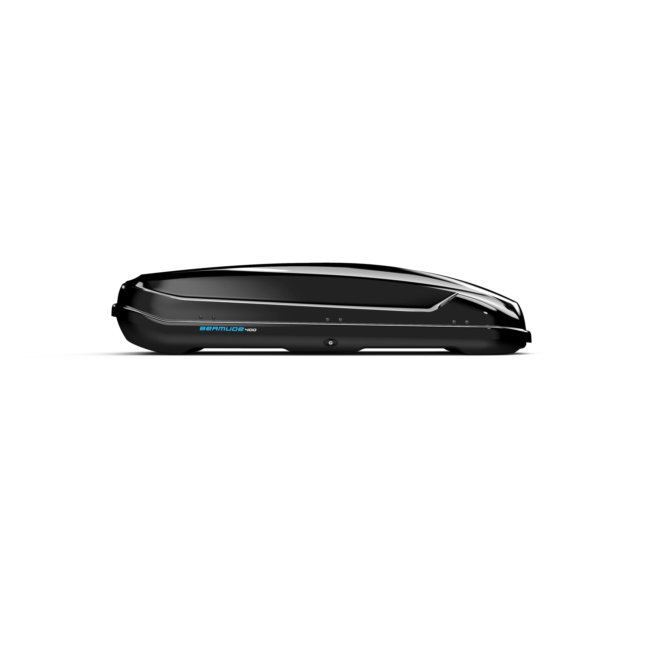 Coffre De Toit Dual Side Norauto Bermude 400 Noir Brillant 421 L