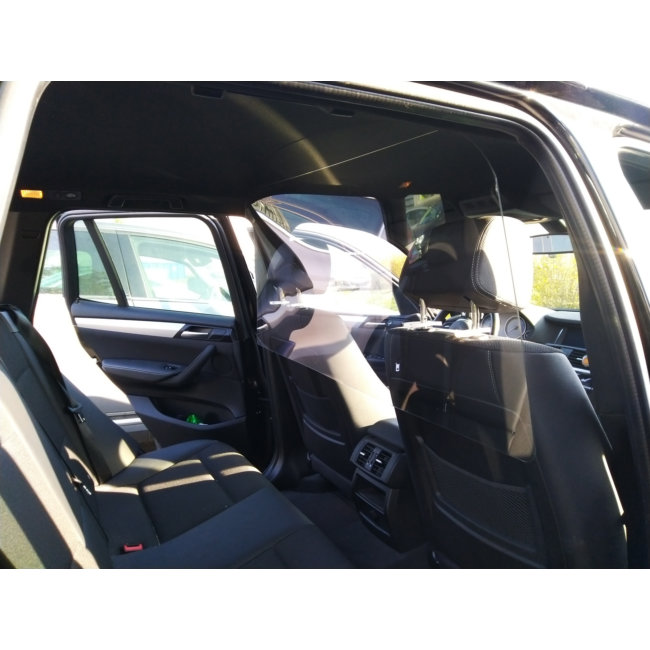 Paroi De Protection Antivirus Pour Taxi, Vtc Et Ambulances En Polycarbonate Taille M