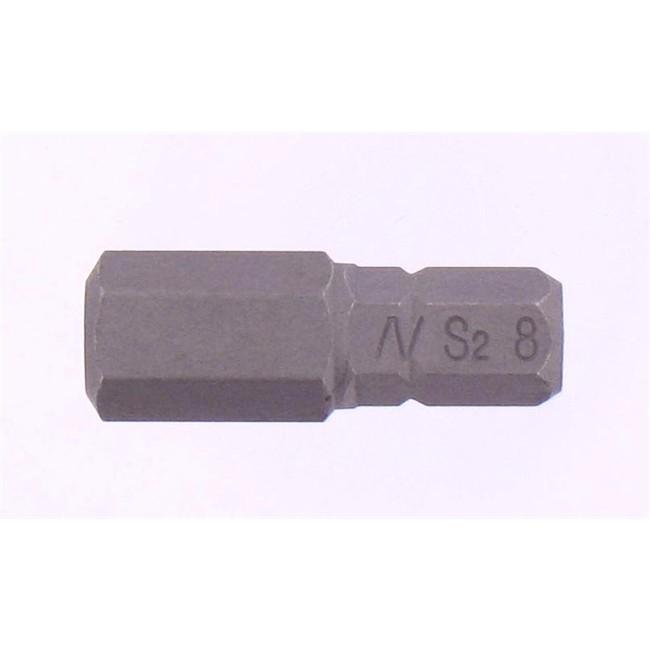 Embout 1/4 X 25mm Allen H8