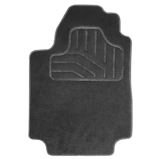 1 Tapis Avant Universel Moquette Norauto Noir