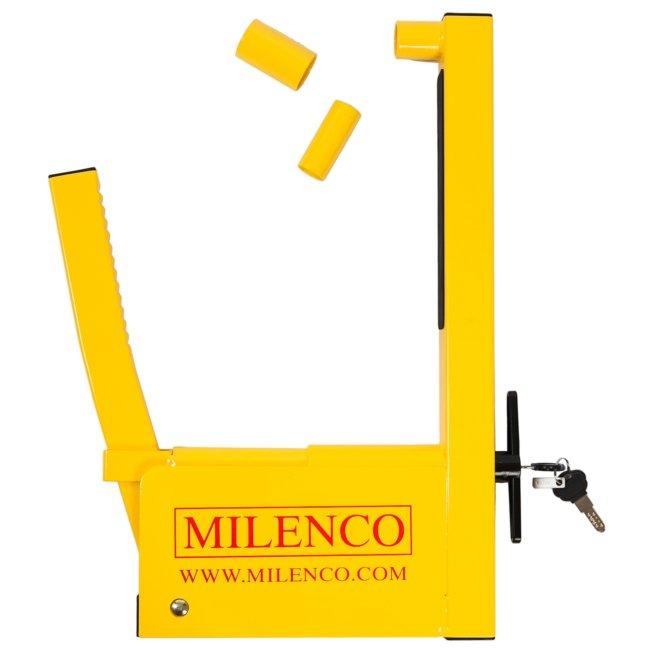 Sabot De Roue Compact Milenco, Jaune