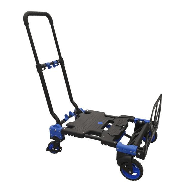 Combine Diable Et Chariot Repliable En Aluminium Et Polypropylène Viso