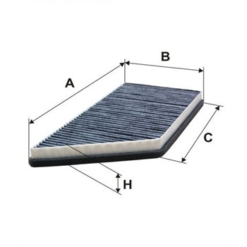 filtre d 39 habitacle charbon actif norauto fc301. Black Bedroom Furniture Sets. Home Design Ideas