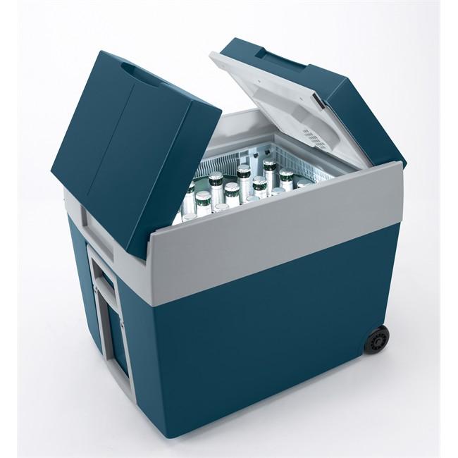 glaci re lectrique roulettes 12v 230 v mobicool 48 l. Black Bedroom Furniture Sets. Home Design Ideas