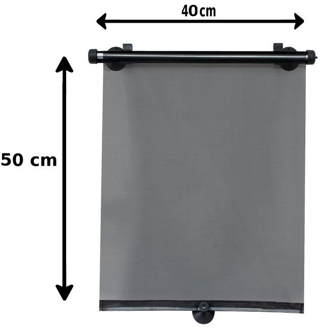1 rideau pare soleil enrouleurs lat ral norauto 40 x 50 cm. Black Bedroom Furniture Sets. Home Design Ideas