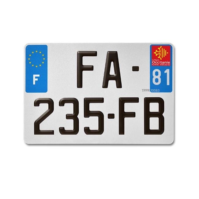 Plaque D Immatriculation Alu D 233 Partement 81 Pour 4x4 Et