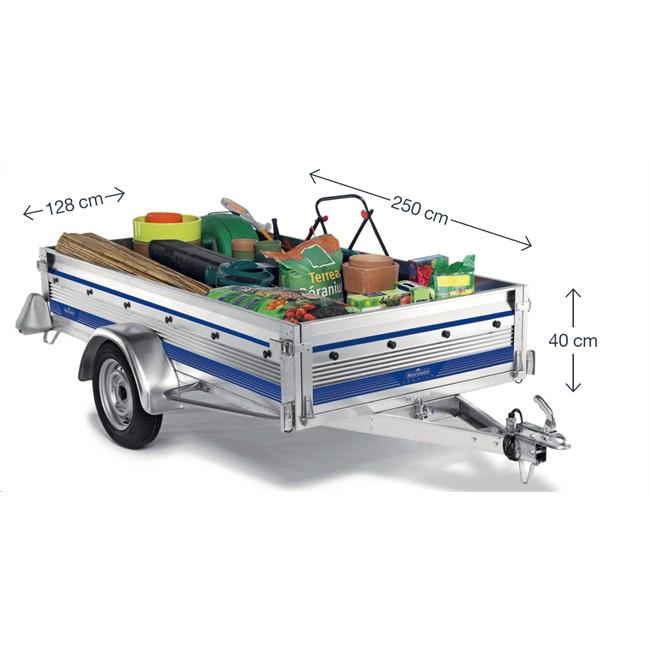 remorque 500 kg norauto premium 256. Black Bedroom Furniture Sets. Home Design Ideas