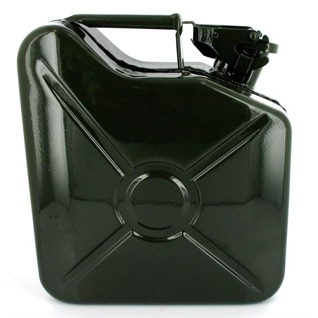 Jerrican Carburant En Métal Vert Us 5 L\