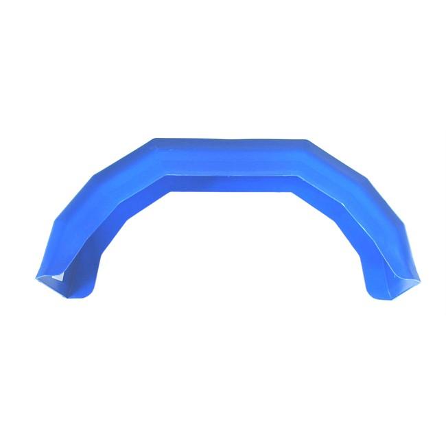 Garde-boue En Plastique Bleu Galbé Pour Roue 10 Pouces Dbd