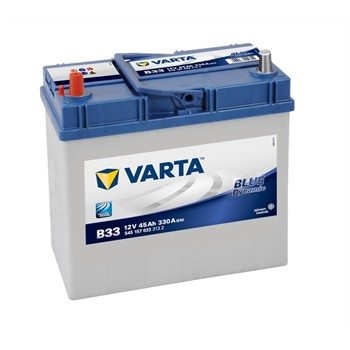 Batterie VARTA B33 Blue Dynamic 45 Ah - 330 A