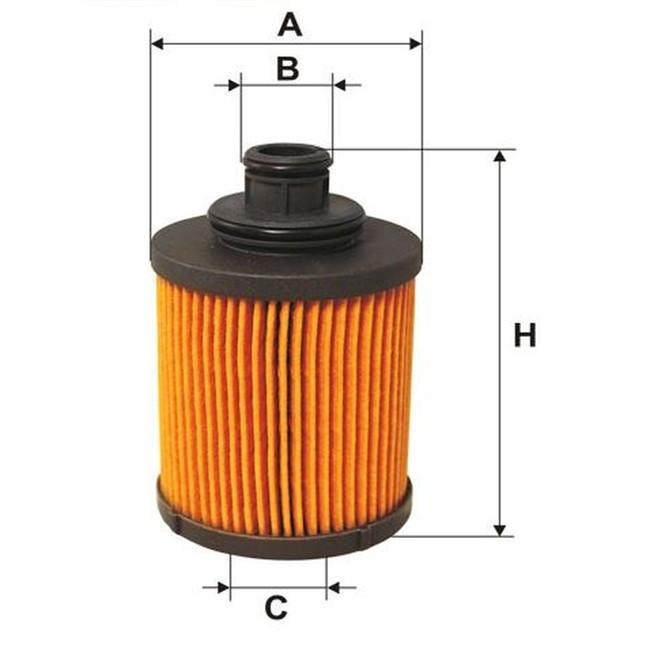 filtre huile norauto 613