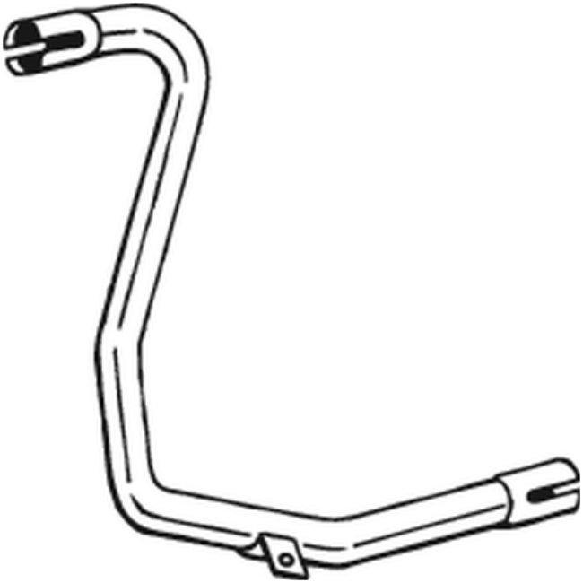 Tube D'échappement Bosal 384-627