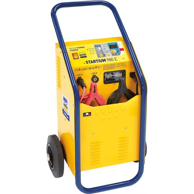 chargeur batterie gys startium 980e 50a 12v 24v norauto fr