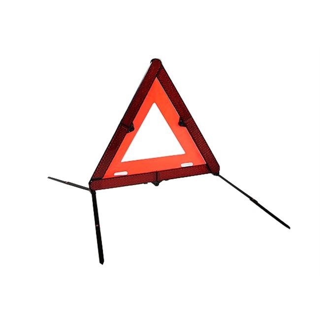 1 triangle de signalisation compact et pliable. Black Bedroom Furniture Sets. Home Design Ideas