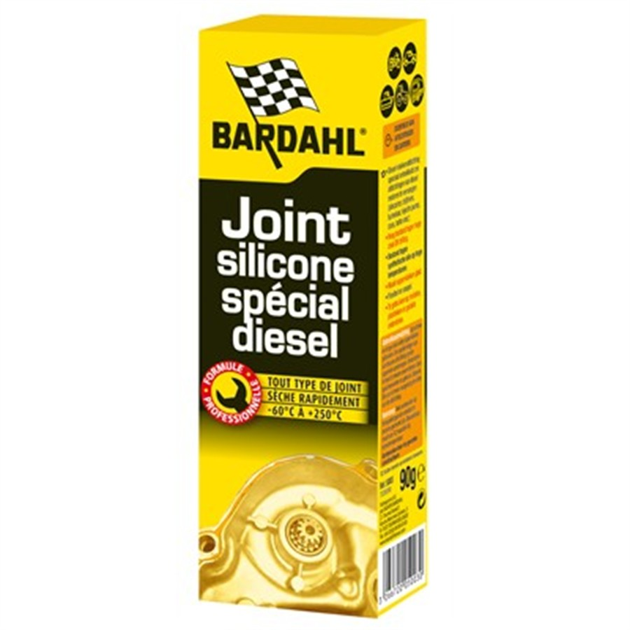 Joint silicone multi-usages or spécial diesel  BARDAHL 90 g