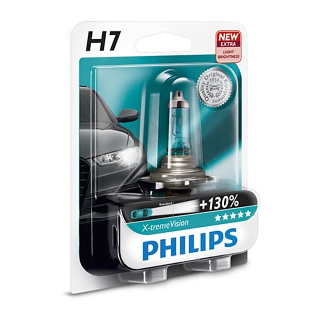 1 ampoule philips h7 x tremevision 55w 12v. Black Bedroom Furniture Sets. Home Design Ideas