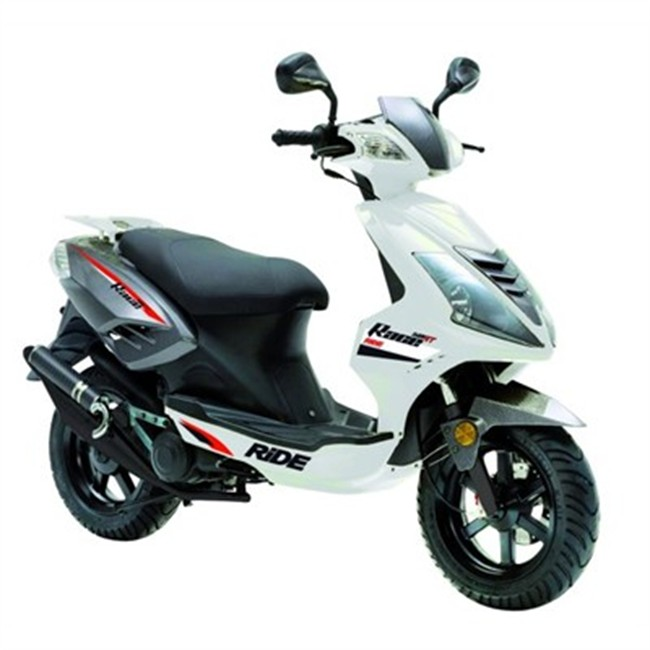 scooter 50 cm3 ride race blanc. Black Bedroom Furniture Sets. Home Design Ideas