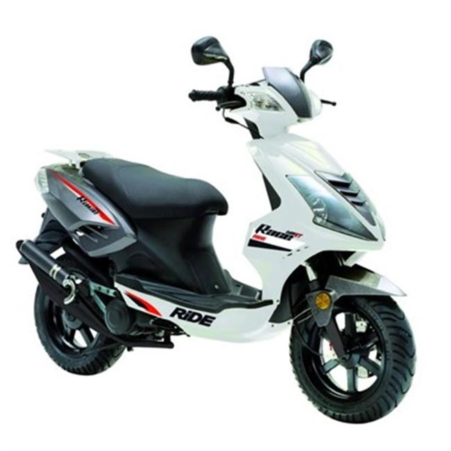 scooter 50 cm3 ride race blanc. Black Bedroom Furniture Sets. Home Design Ideas
