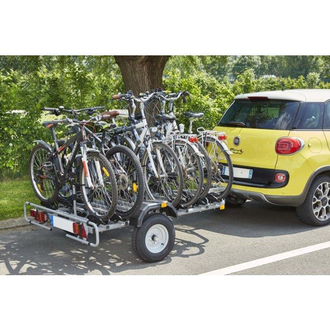 Remorque Porte 6 Vélos + Bagages Mottez A356s
