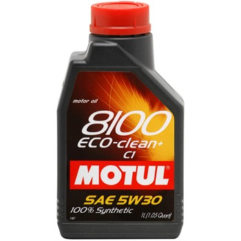 huile moteur motul 8100 eco clean c1 sae 5w30 essence et diesel 1 l. Black Bedroom Furniture Sets. Home Design Ideas