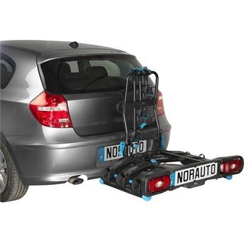 Porte v los d 39 attelage plate forme norauto rapidbike 3p pour 3 v los compatible v los - Porte velo electrique attelage ...