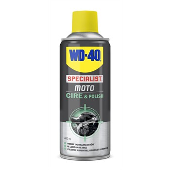 Cire et polish moto WD-40 400 ml