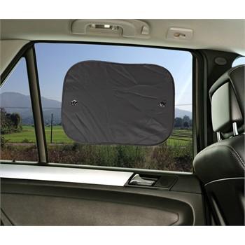 2 rideaux pare soleil ventouses lat raux norauto 55 x 40 cm. Black Bedroom Furniture Sets. Home Design Ideas