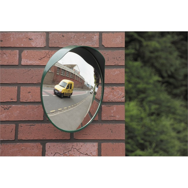 miroir convexe sortie garage ou parking 40 cm mottez b314p40. Black Bedroom Furniture Sets. Home Design Ideas