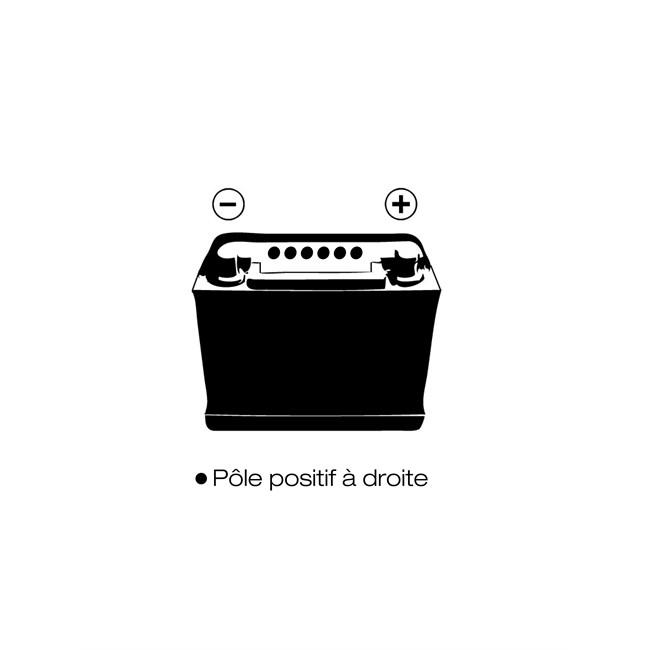 Batterie 1er PRIX CONFIANCE BVP16 80 Ah 700 A :