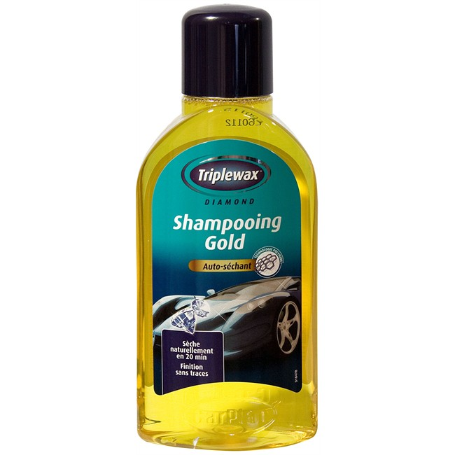 Shampoing auto s chant gold triplewax 500 ml - Shampoing lustrant voiture ...