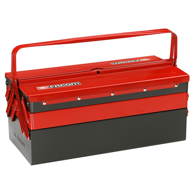 caisse outils 5 cases 47 cm facom. Black Bedroom Furniture Sets. Home Design Ideas