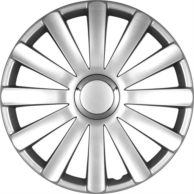 4 Enjoliveurs Gris 4racing Spyder Pro 13 Pouces