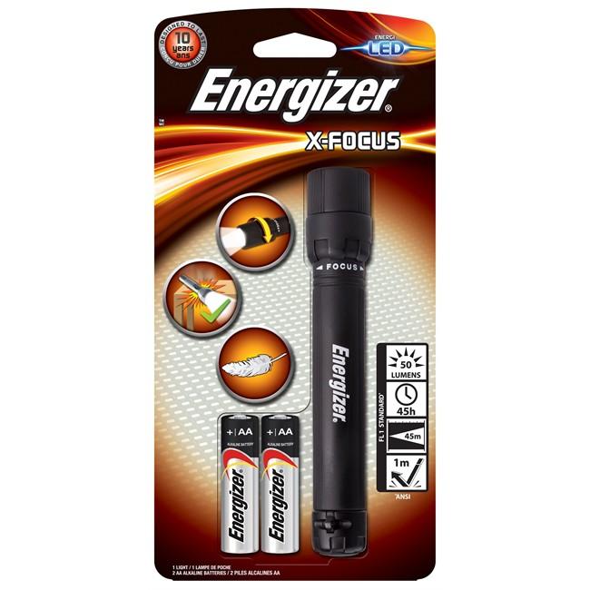 Lampe Torche Energizer X-focus