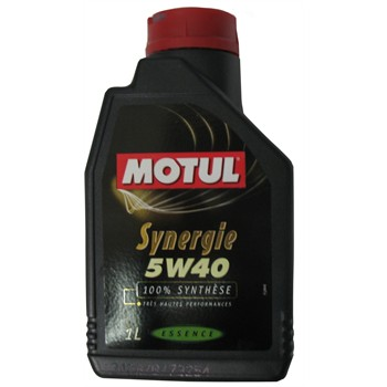 huile moteur motul synergie 5w40 essence 1 l. Black Bedroom Furniture Sets. Home Design Ideas