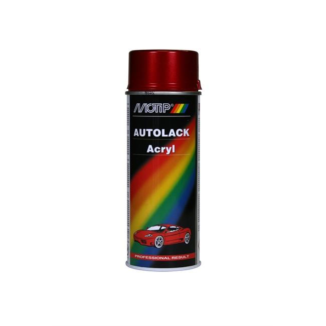 Bombe De Peinture Rouge Métallisé Motip M51558 400 Ml