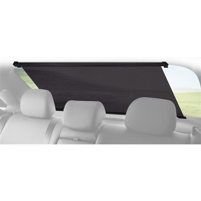 1 rideau pare soleil pour lunette arri re enrouleur. Black Bedroom Furniture Sets. Home Design Ideas