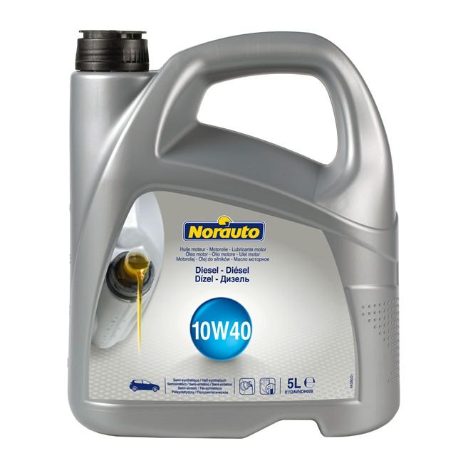 Huiles Liquides Huile Moteur Huile Moteur Norauto 10w40 Diesel 5 L