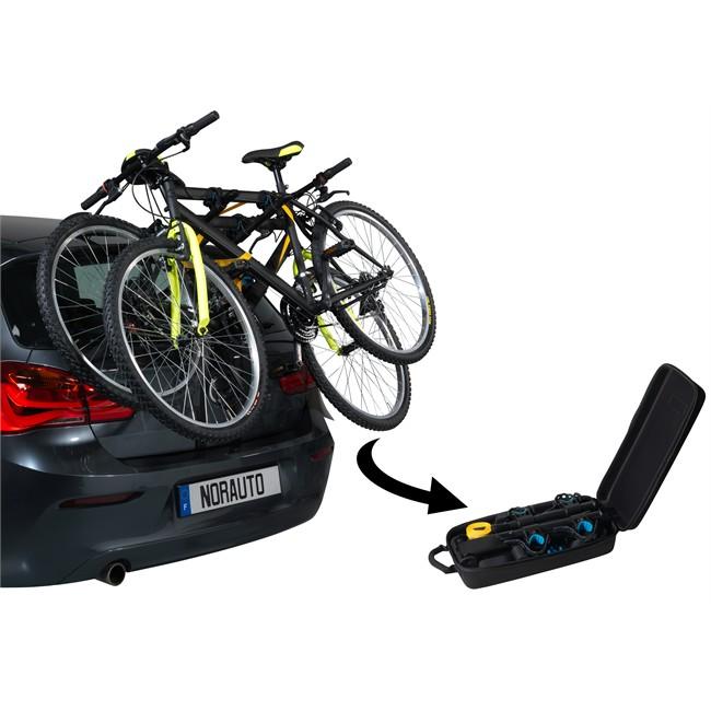accrocher la voiture de rack de vélo