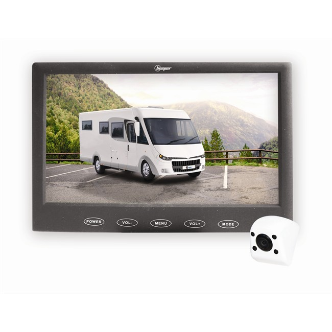 cam ra de recul beeper rw109cc pour camion et camping car. Black Bedroom Furniture Sets. Home Design Ideas