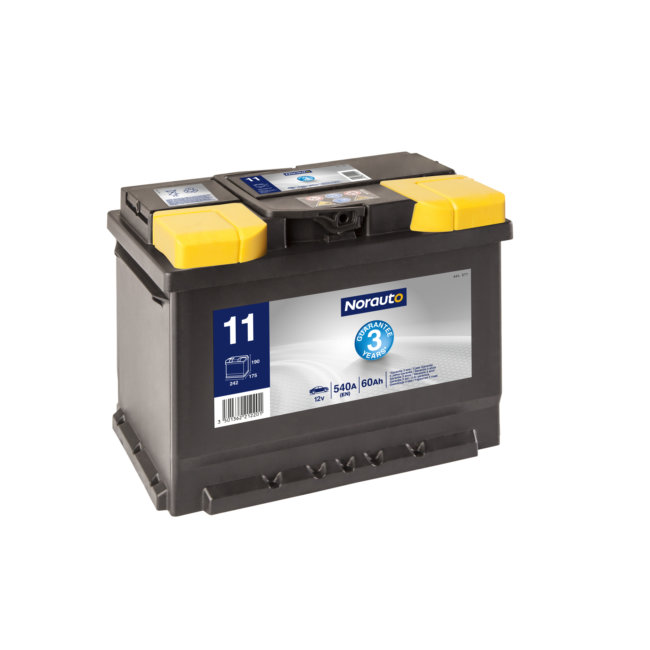 Batterie NORAUTO BV11 60 Ah 540 A :