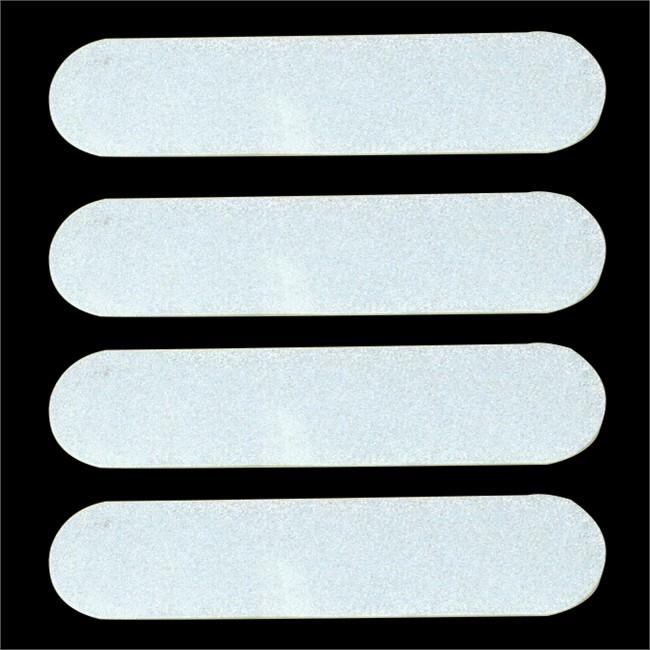 4 Stickers Reflechissants Pour Casque Norautofr