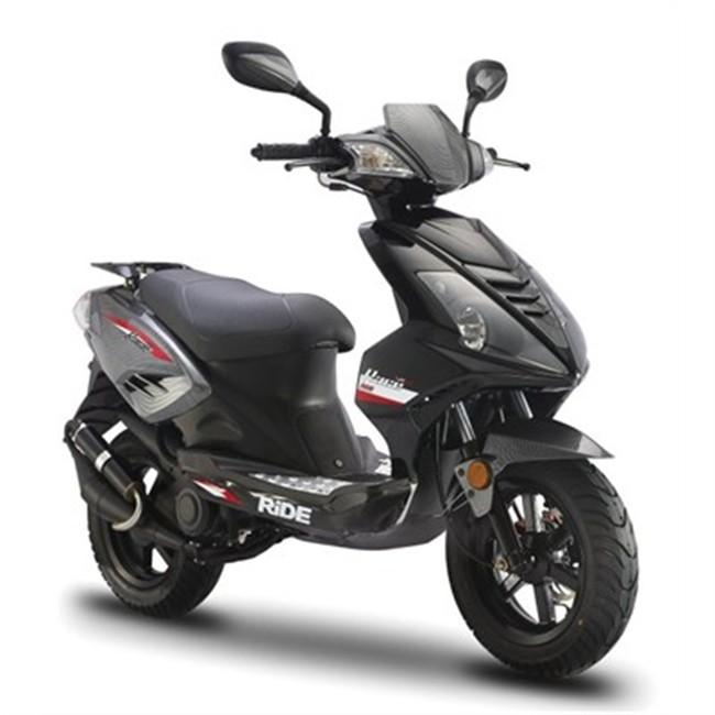 scooter 50 cm3 ride race noir. Black Bedroom Furniture Sets. Home Design Ideas