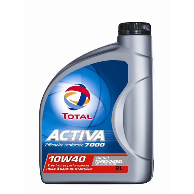 Huiles Liquides Huile Moteur Huile Moteur Total Activa 7000 10w40 Diesel 2 L