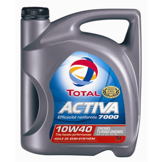 Huiles Liquides Huile Moteur Huile Moteur Total Activa 7000 10w40 Diesel 5 L