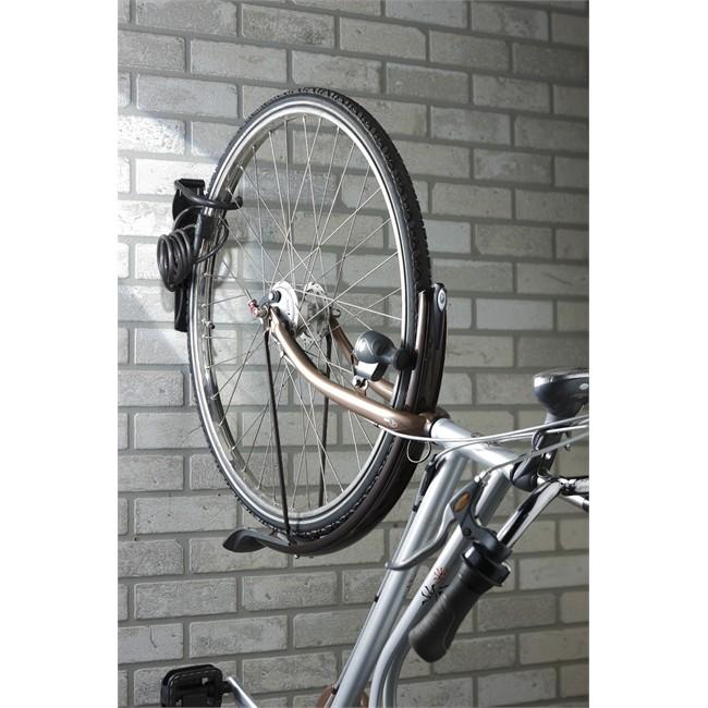 PedalPro Crochet Robuste Mural Support Rangement Vélo Verticale Garage//Maison
